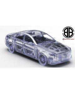 Generic Car Luxury w Body in white