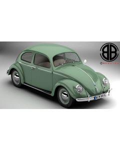 Volkswagen Beetle 1951 Deluxe