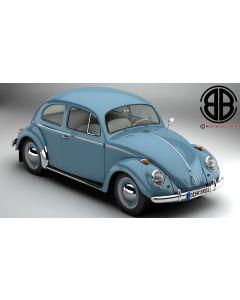 Volkswagen Beetle 1963 1200 Deluxe